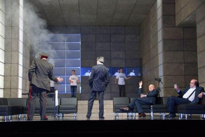 «Борис Годунов» по Александру Пушкину. Театр «Ленком» (Москва).